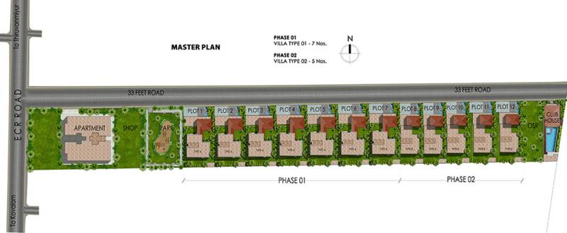Images for Master Plan of Chaitanya Bloomfield