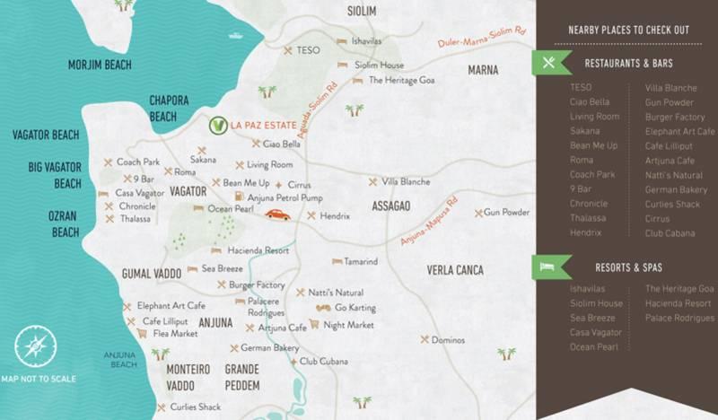 Images for Location Plan of Vianaar La Paz Estate Villa