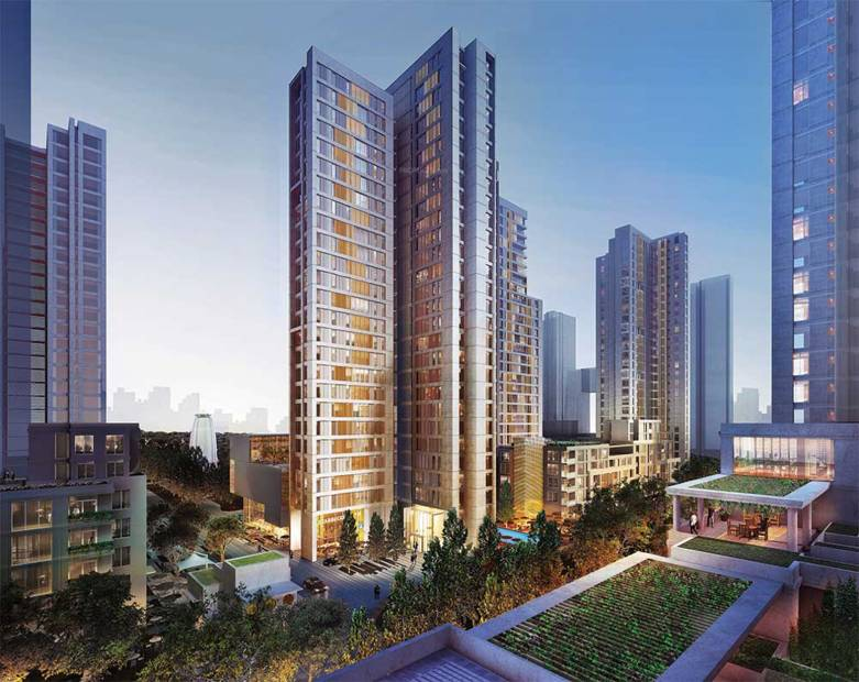 Images for Elevation of Piramal Vaikunth Cluster 4
