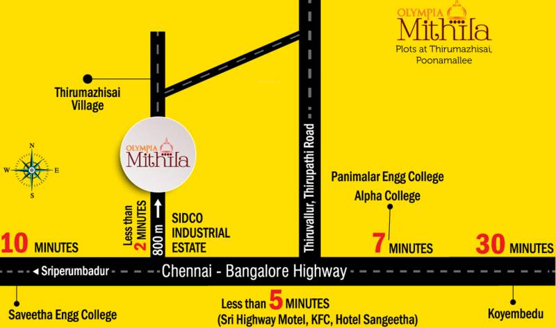 Images for Location Plan of Olympia Mithila