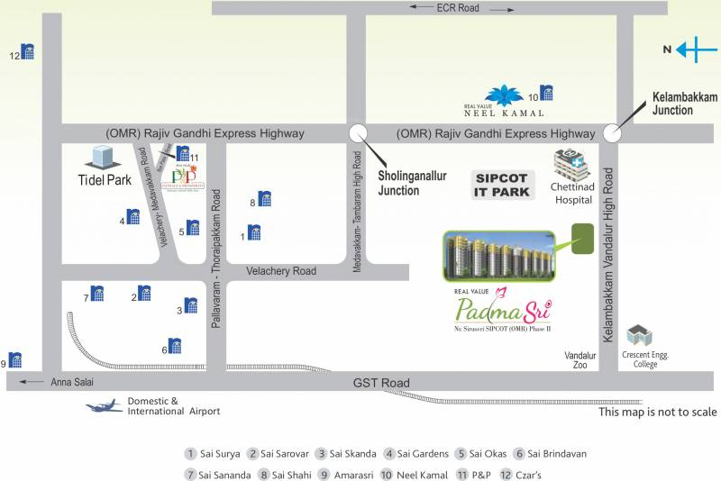 Images for Location Plan of Real Padmasri