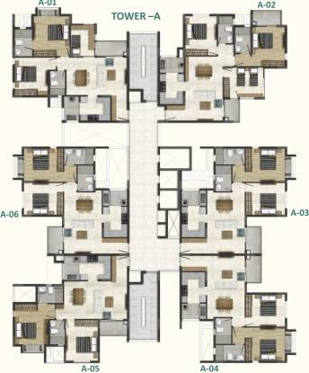 casablanca Images for Cluster Plan of DNR Casablanca