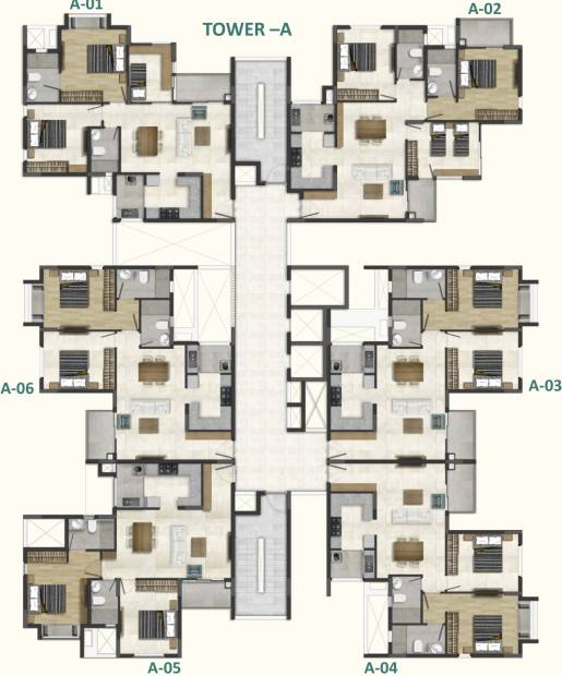 Images for Cluster Plan of DNR Casablanca