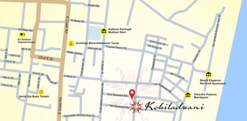 Images for Location Plan of India Kokiladwani