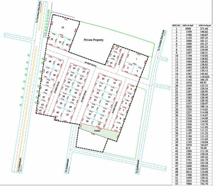 Images for Layout Plan of SLV SLV Suvarna