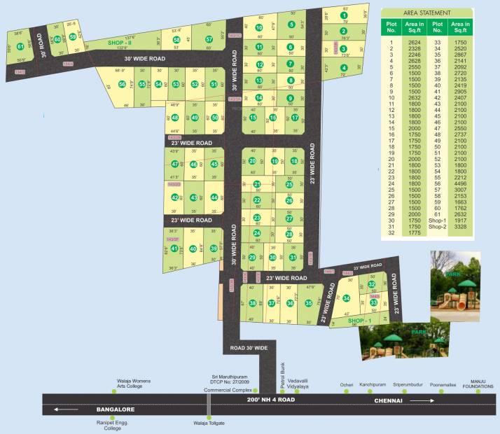 Images for Master Plan of Manju Aster