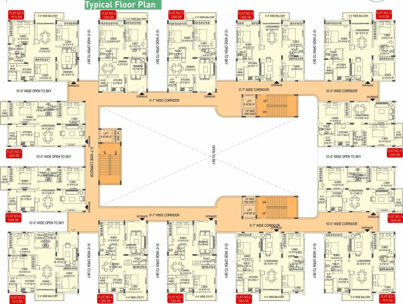 enclave-apartments Images for Cluster Plan of Ramky Group Enclave Apartments