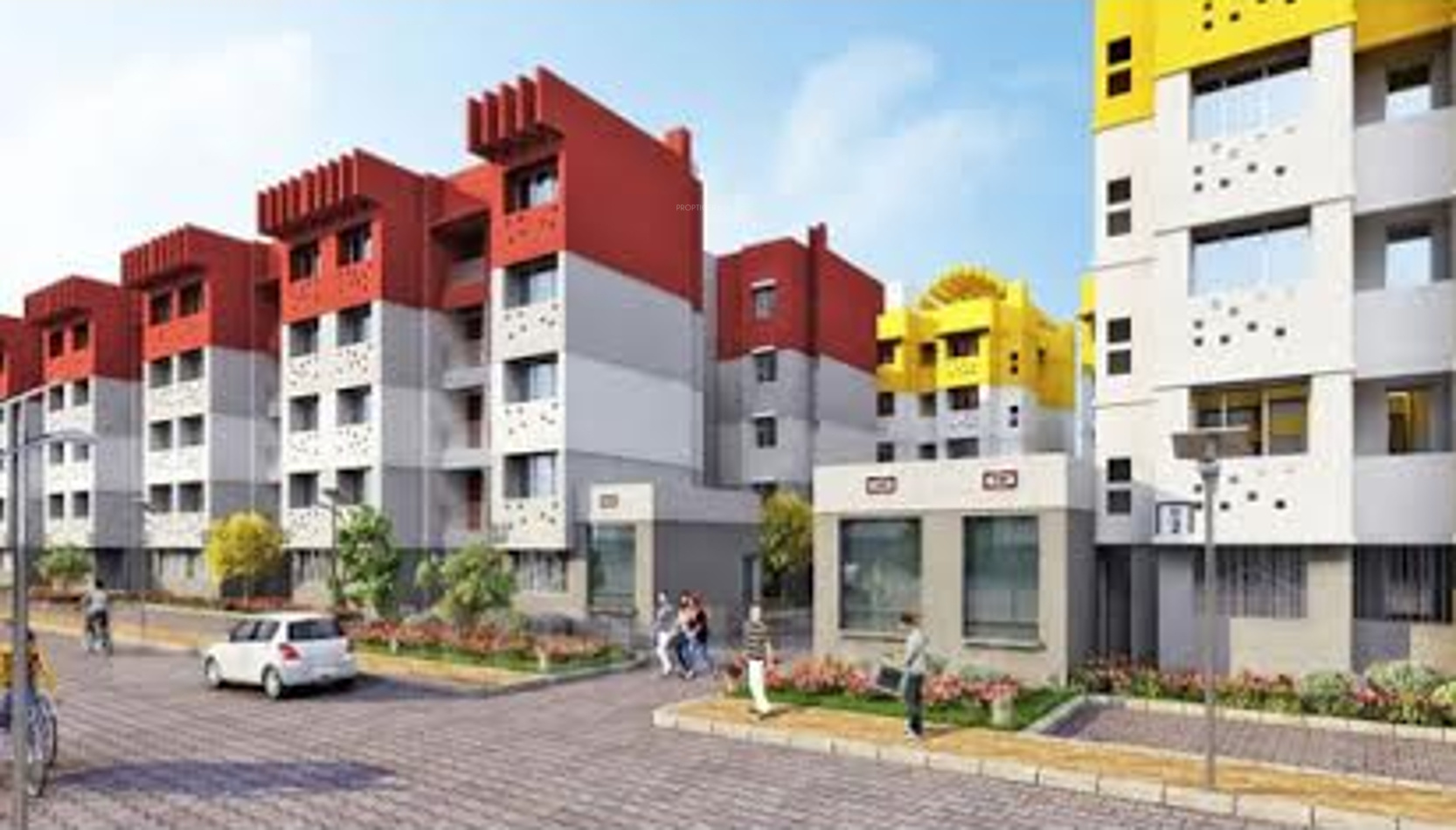 581 sq ft 1 BHK 1T Apartment for Sale in Narang ...