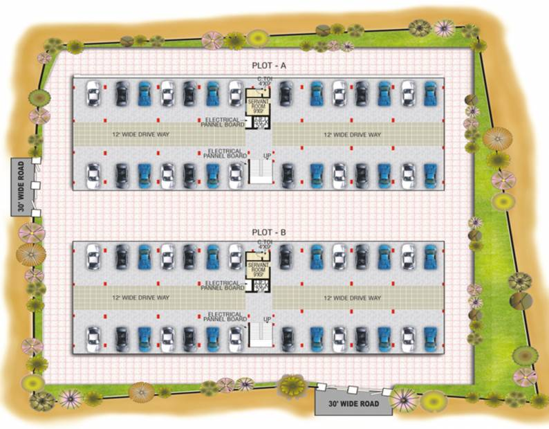 Images for Cluster Plan of Manju Thilakavathi Enclave