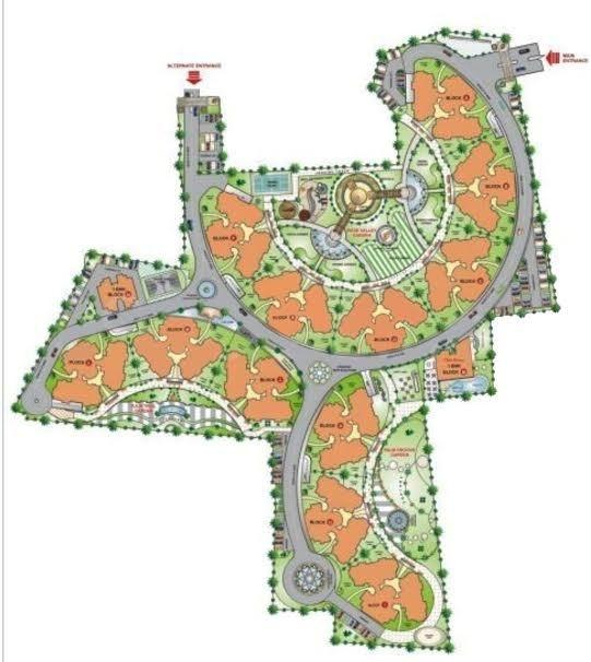 Images for Master Plan of Adarsh Buildestate Royal Palms