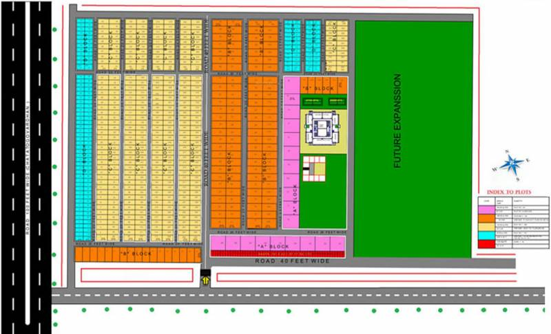 Images for Layout Plan of Omson Dwarka City