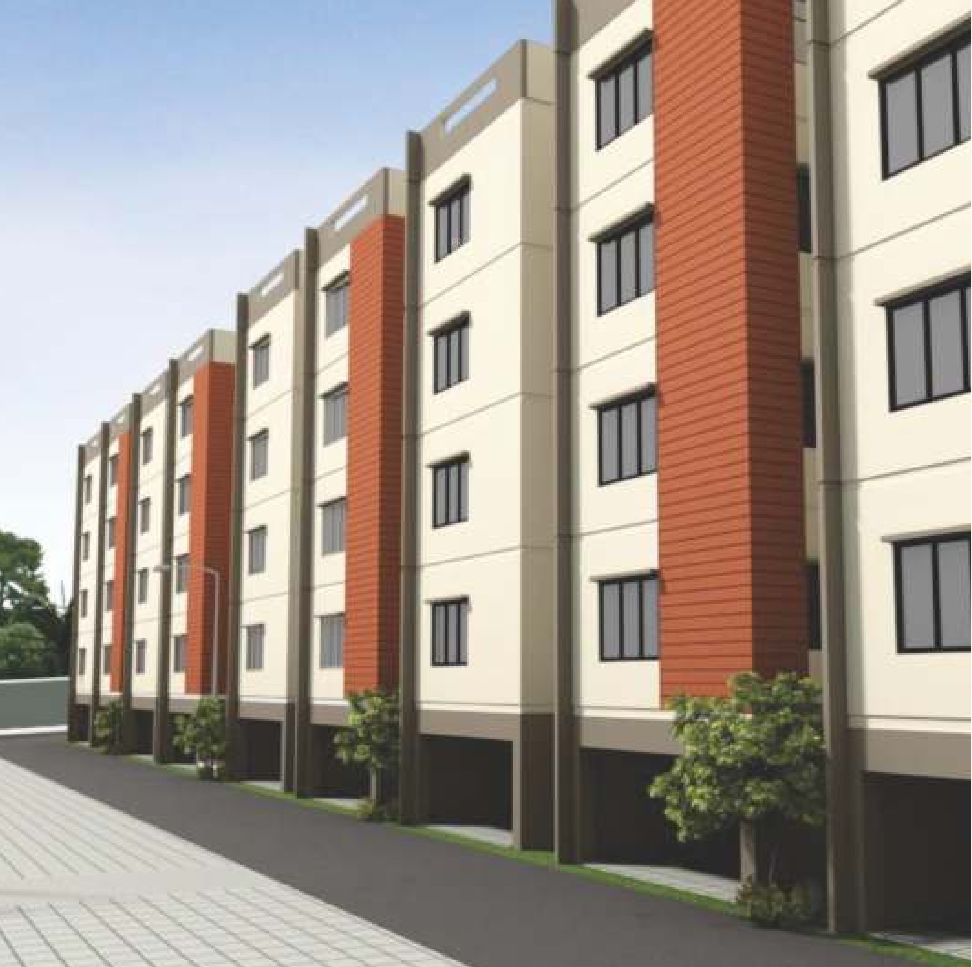 680 Sq Ft 2 Bhk 2t Apartment For Sale In Town And City