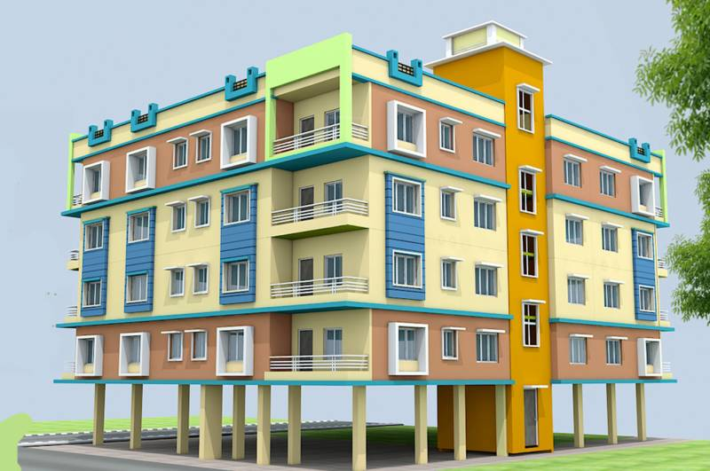 Images for Elevation of S And N Group Prativa Kunj