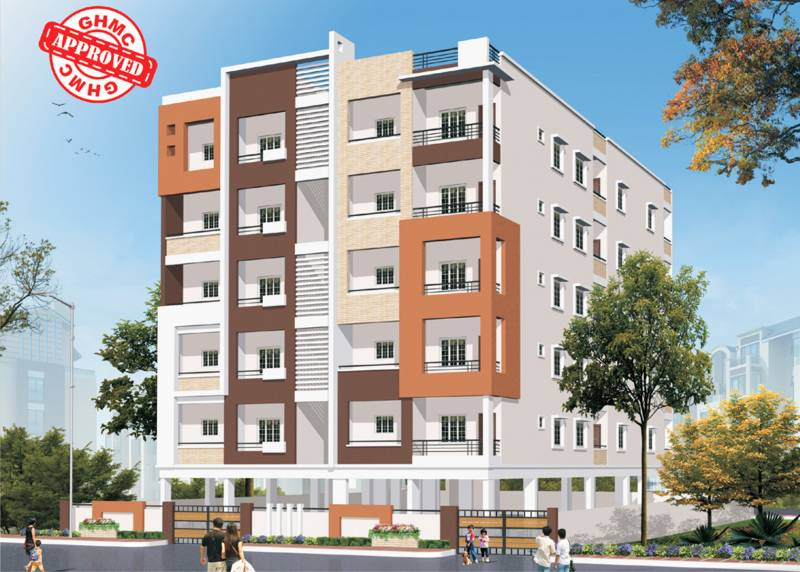 Images for Elevation of Axon Sai Balaji Hills