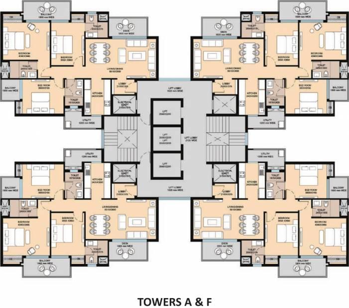 Images for Cluster Plan of Saha Eminence