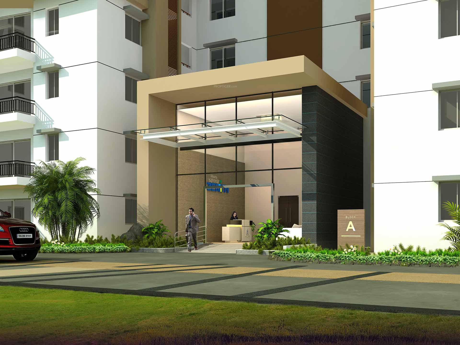 Zenith Floor Plan Aparna Sarovar Zenith In Nallagandla Gachibowli Hyderabad
