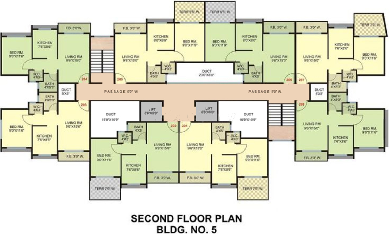 321 sq ft 1 bhk 1t apartment for sale in chintamani group for 1 bhk floor plan