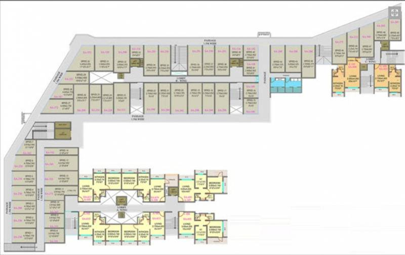 Images for Cluster Plan of Tulsi Tulsi Center Point