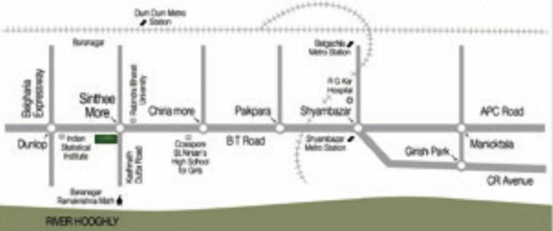 Images for Location Plan of Ambuja Uddipa