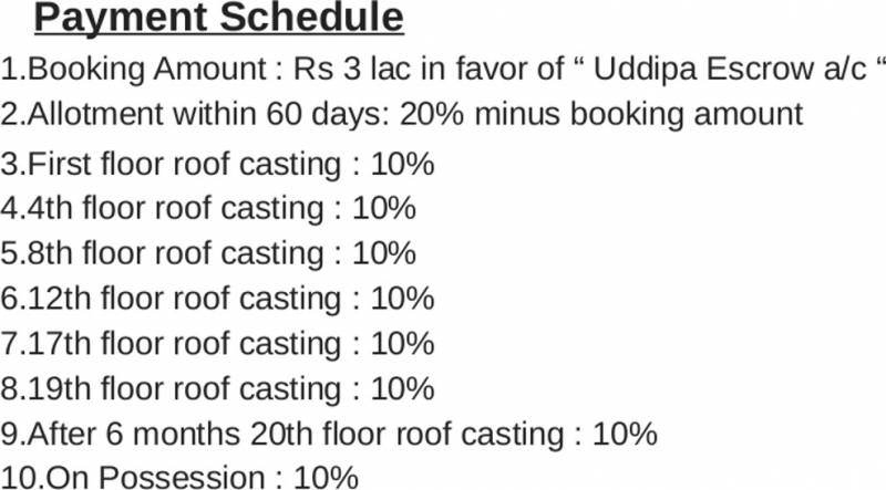 Images for Payment Plan of Ambuja Uddipa