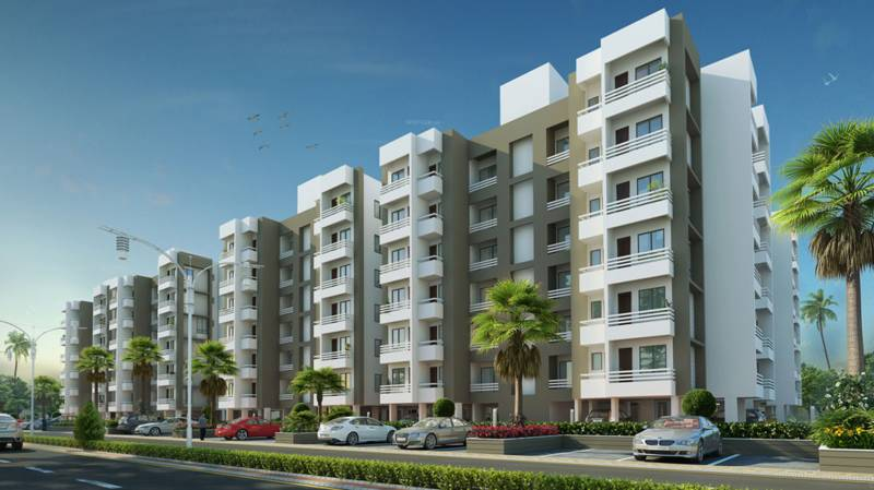 Images for Elevation of Aakriti Aquacity Gomti