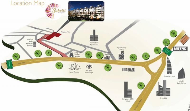Images for Location Plan of DEC Sukriti Apartment