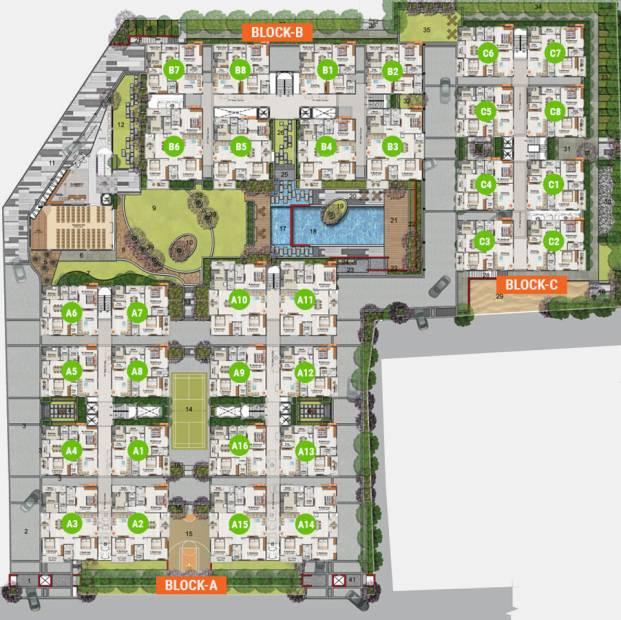 Images for Cluster Plan of Concrete Destina
