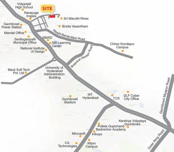 Images for Location Plan of Concrete Destina