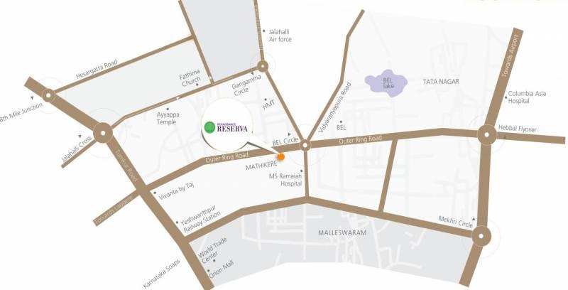renaissance-reserva Location Plan