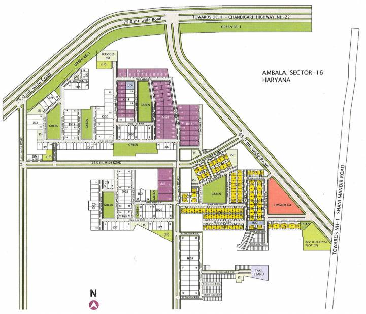 Images for Master Plan of Unitech Ananda