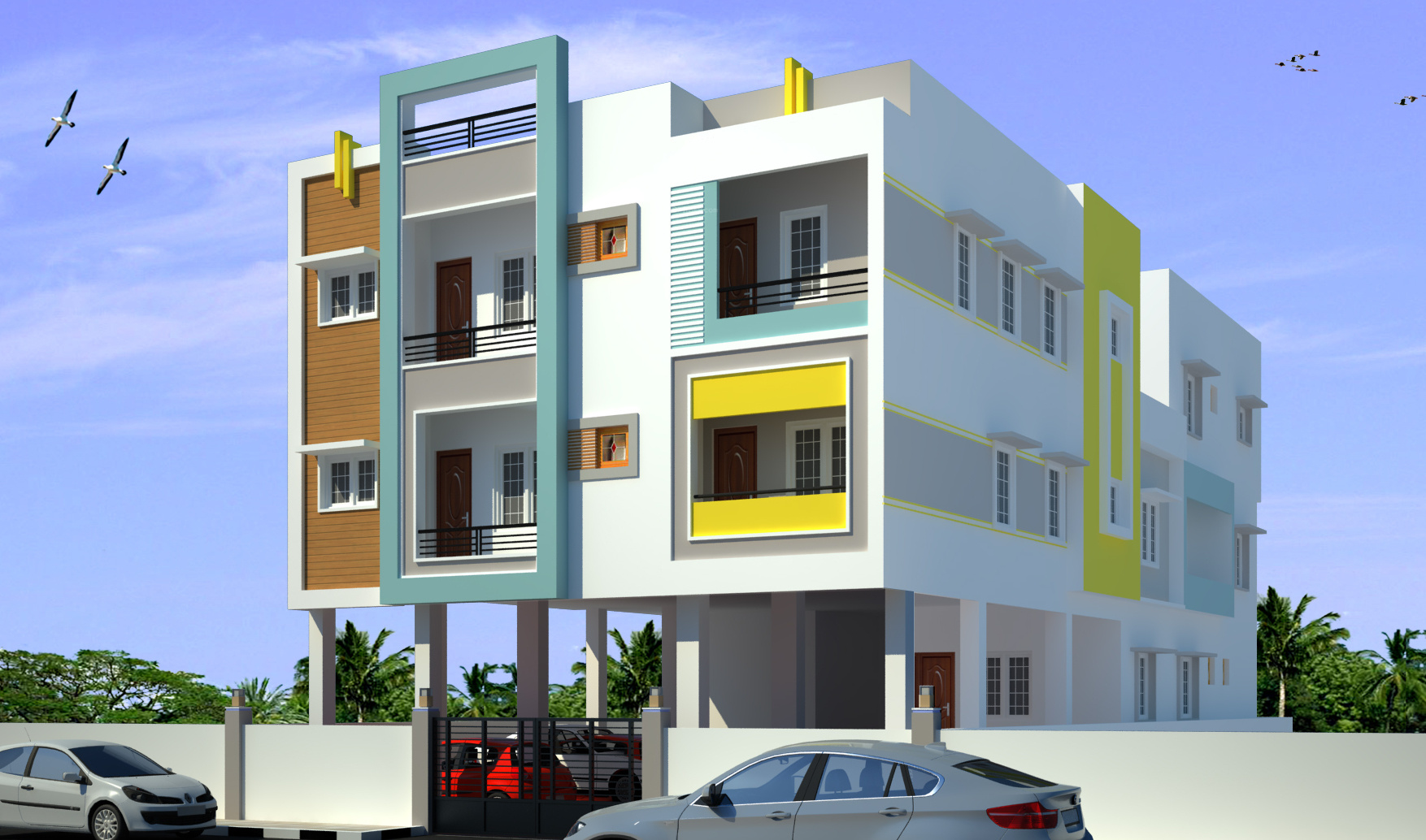 750 Sq Ft 2 Bhk 2t Apartment For Sale In Bhaveshwar