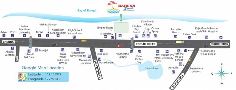 Images for Location Plan of Manju Baruna Beach