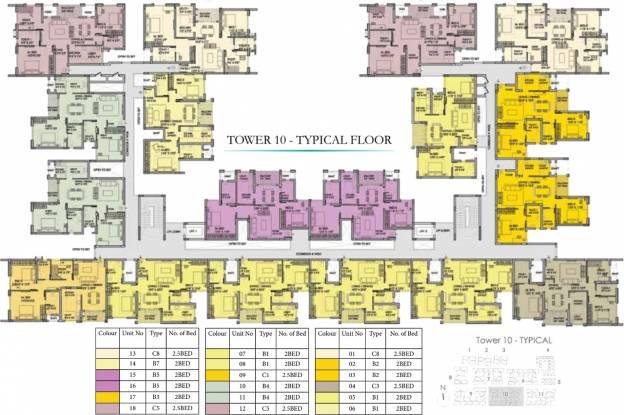 Images for Cluster Plan of Prestige Courtyards