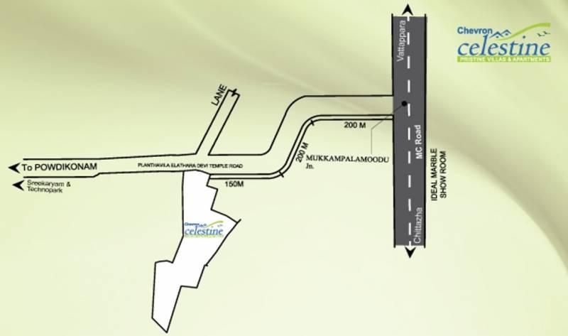 Images for Location Plan of Chevron Celestine Apartment