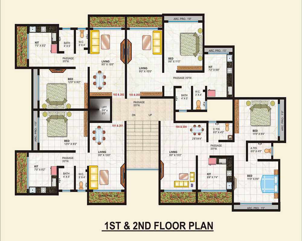1000 sq ft 2 bhk 2t apartment for sale in mahajan empire for 1000 sq ft modular home price