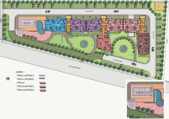 kings-court Images for Master Plan of Purvanchal Kings Court