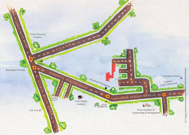 Images for Location Plan of Baron Sonarbhoomi