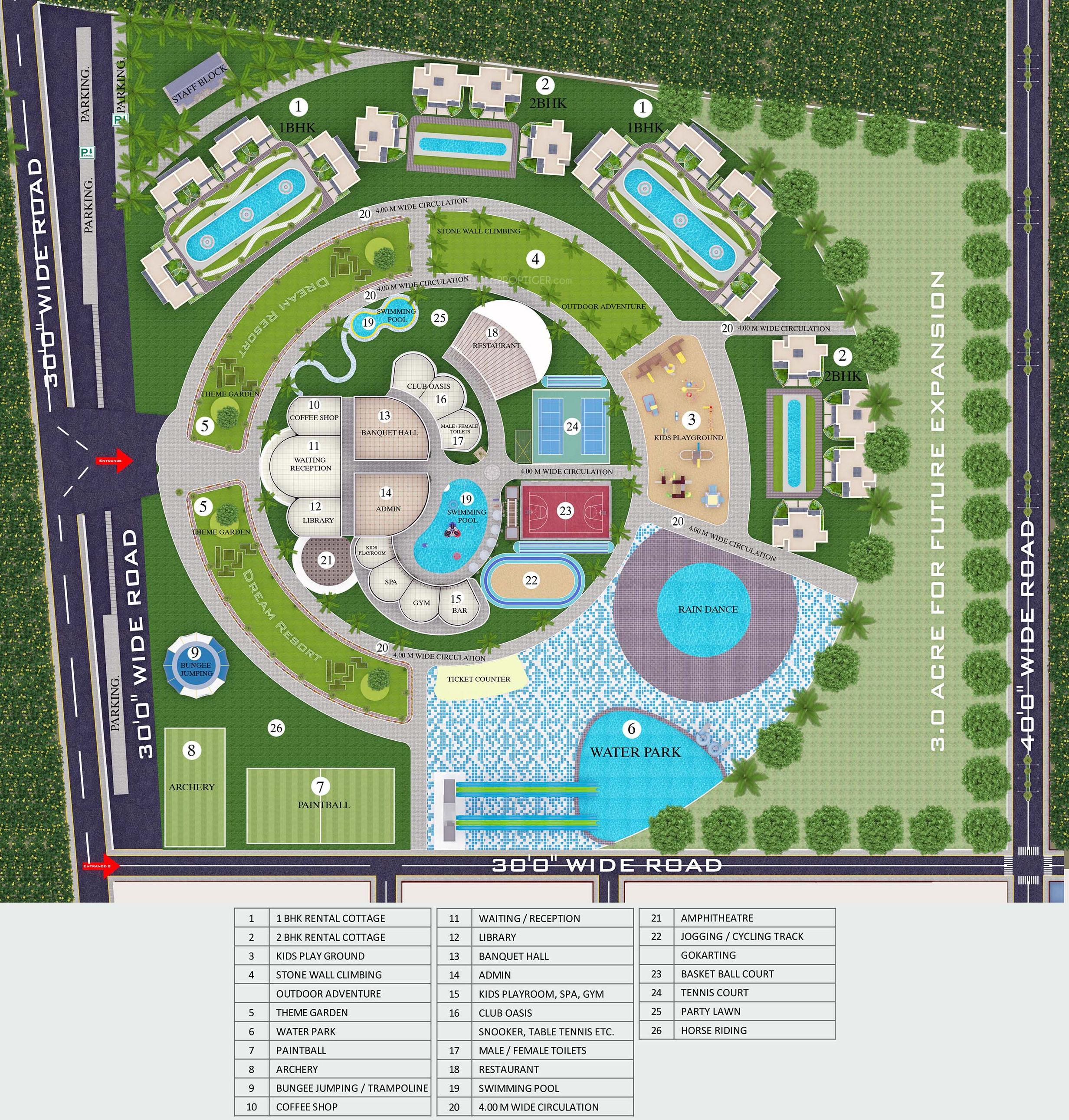 Dream Resort In Shamshabad Hyderabad Price Location