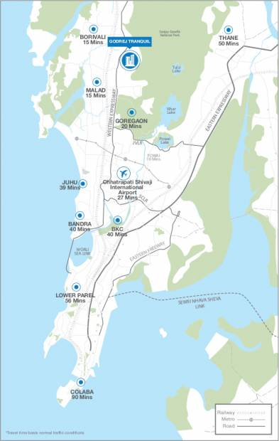 Images for Location Plan of Godrej Tranquil