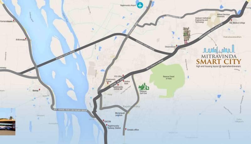 Images for Location Plan of Sreenidhi Mitravinda Smart City