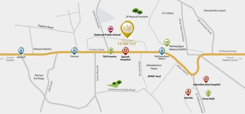 Images for Location Plan of Deccan Habitat