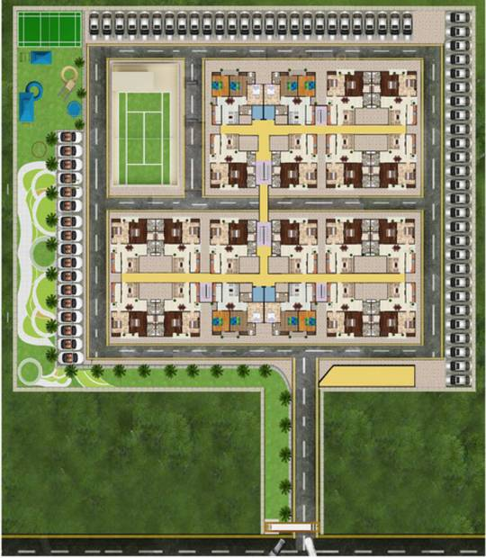 Images for Layout Plan of Ratan Solitaire