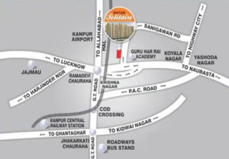 Images for Location Plan of Ratan Solitaire