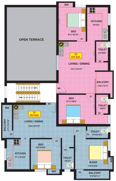 Images for Cluster Plan of MSP Grace Park
