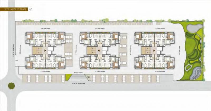 Images for Layout Plan of A Shridhar Kaveri Trisara