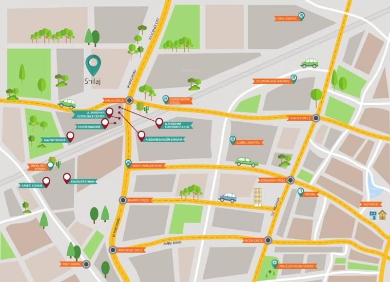 Images for Location Plan of A Shridhar Kaveri Trisara