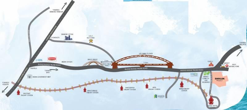 Images for Location Plan of Prakash Builders Shivlok