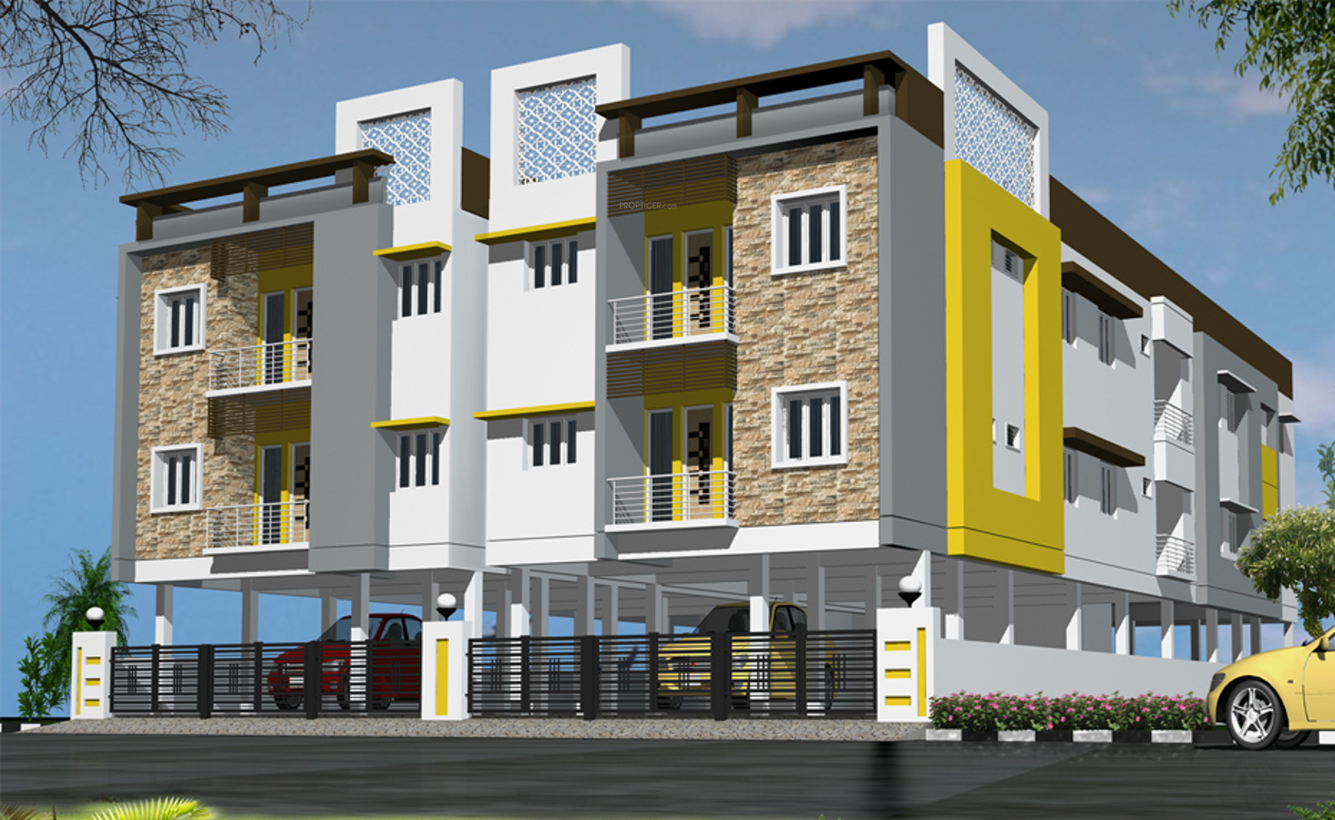 2d kitchen design 1065 sq ft 2 bhk 2t apartment for in raghav 1065