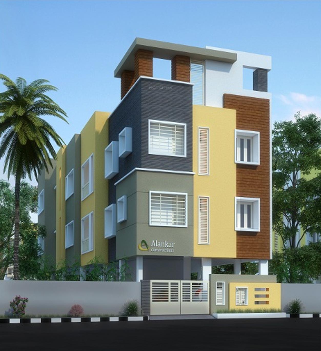 Pinewood Park Apartments: Main Elevation Image Of Alankar Pinewood, Unit Available