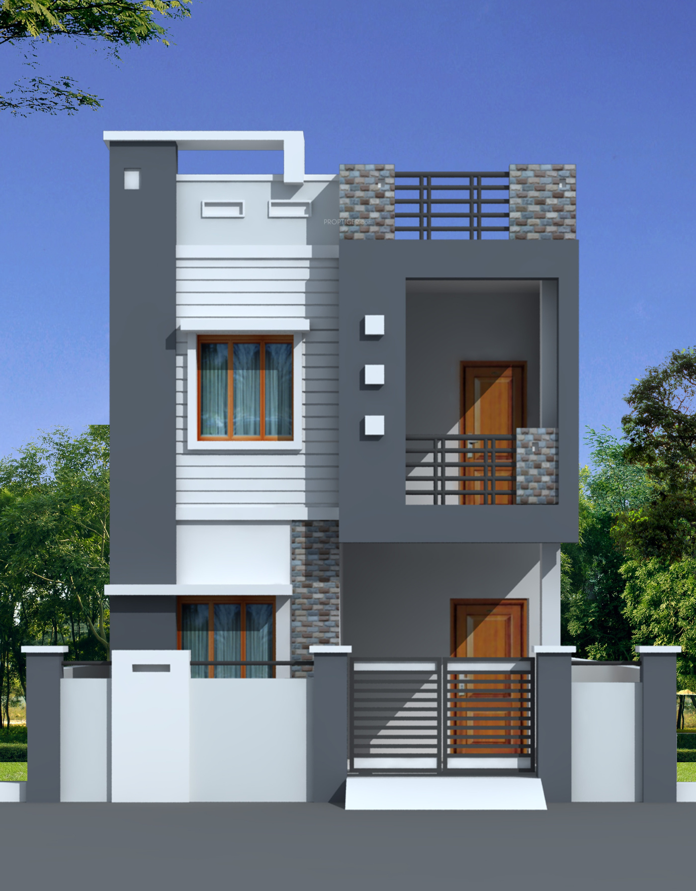 Feet Front Home Elevation : Adasada homes ii in bachupally hyderabad price